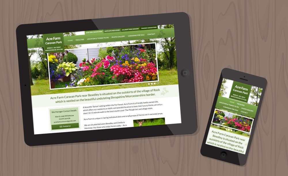 acrefarm-bewdley-webdesign