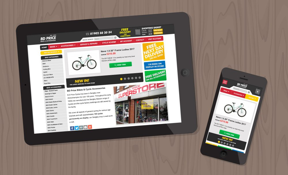 Bike website Sedgley
