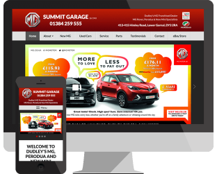 car website design gornal