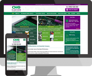 clarydon-electronics-website