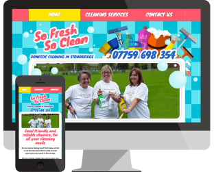 cleaner webdesign stourbridge