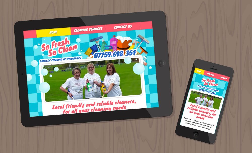 cleaner website Stourbridge