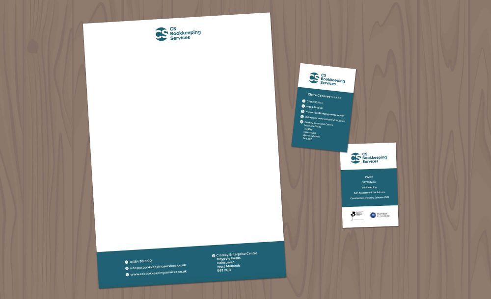 cs bookkeeper letterheads