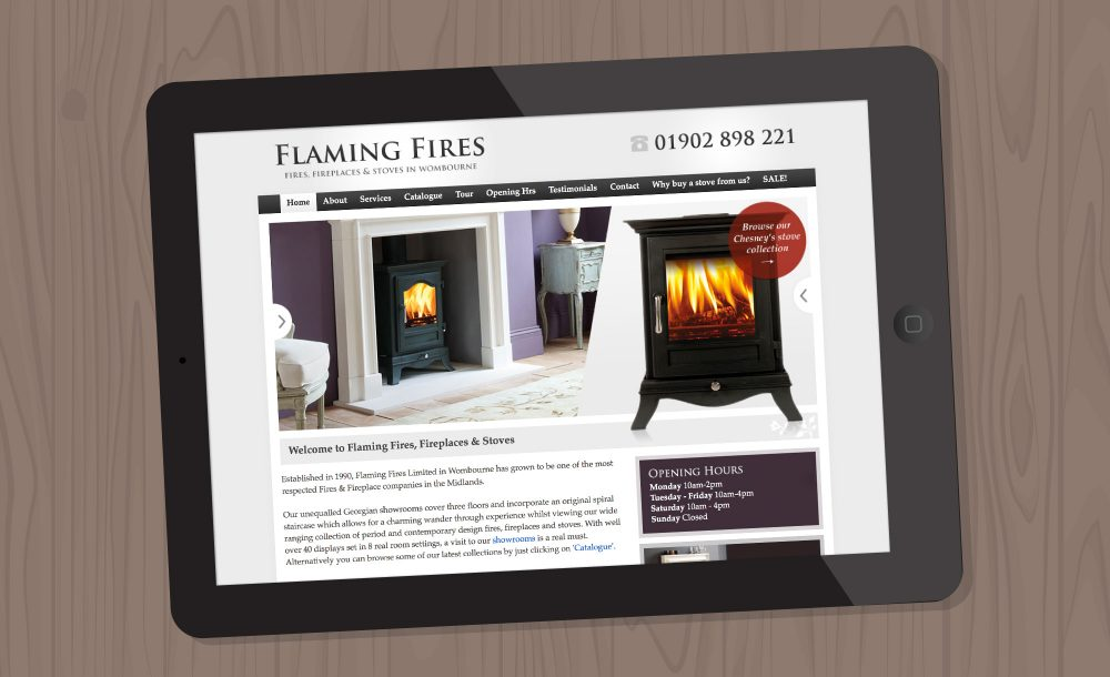 Fireplace website Wombourne