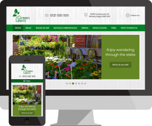 Garden Centre website Rowley Regis