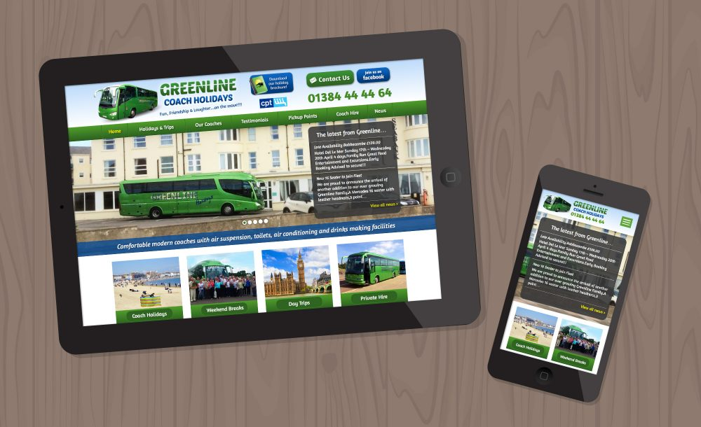 greenline-stourbridge webdesign