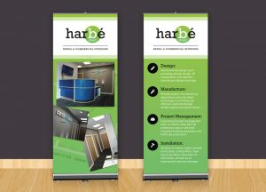 Harbe exhibition stand design West Midlands