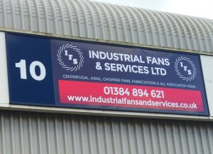 IFS building sign design Lye