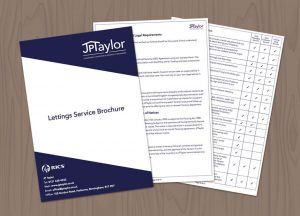 JPT brochure design Harborne