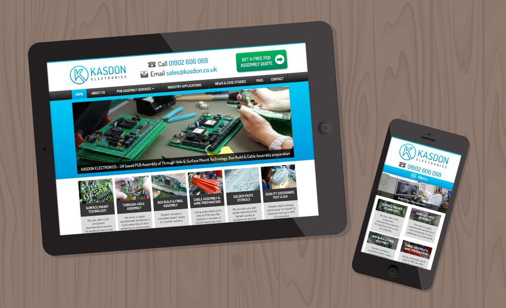 Kasdon mobile website Wolverhampton