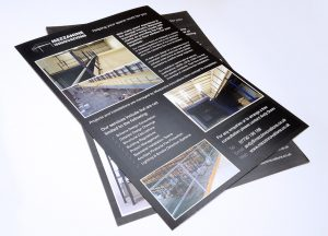 Mezzanine Innovations A4 flyer design