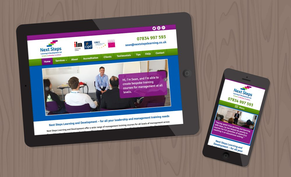 next-steps website kidderminster