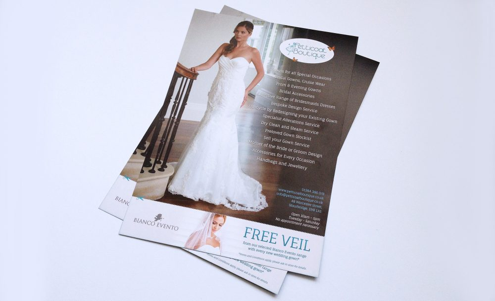 A5 leaflet design print Stourbridge
