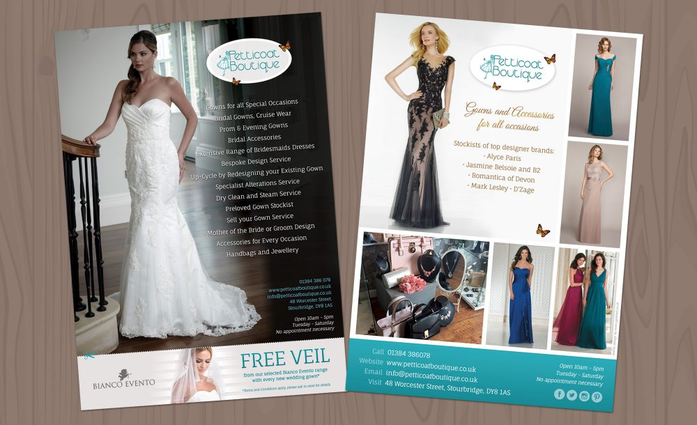 Leaflet design and print Stourbridge