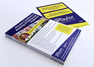 A6 printed flyers Stourbridge