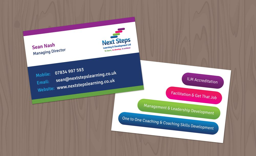 Business card design Kidderminster
