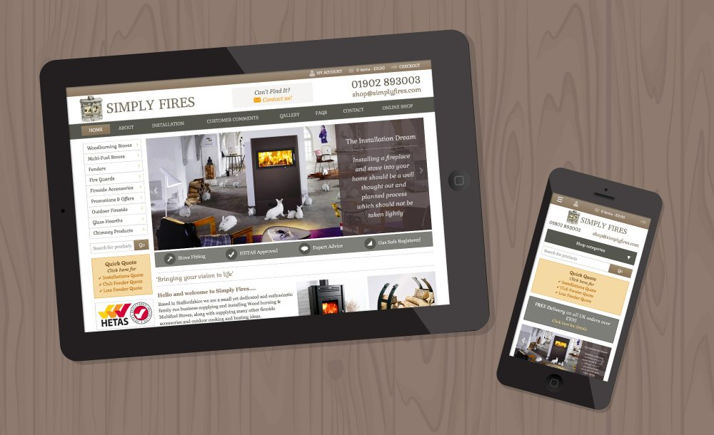 simply fires webdesign