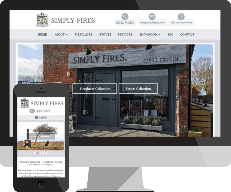 simply fires website