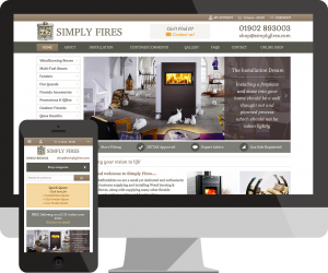 simplyfires-website-design