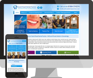 southroad-dentist-website