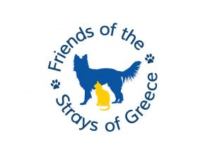 Friends of the Strays of Greece logo design