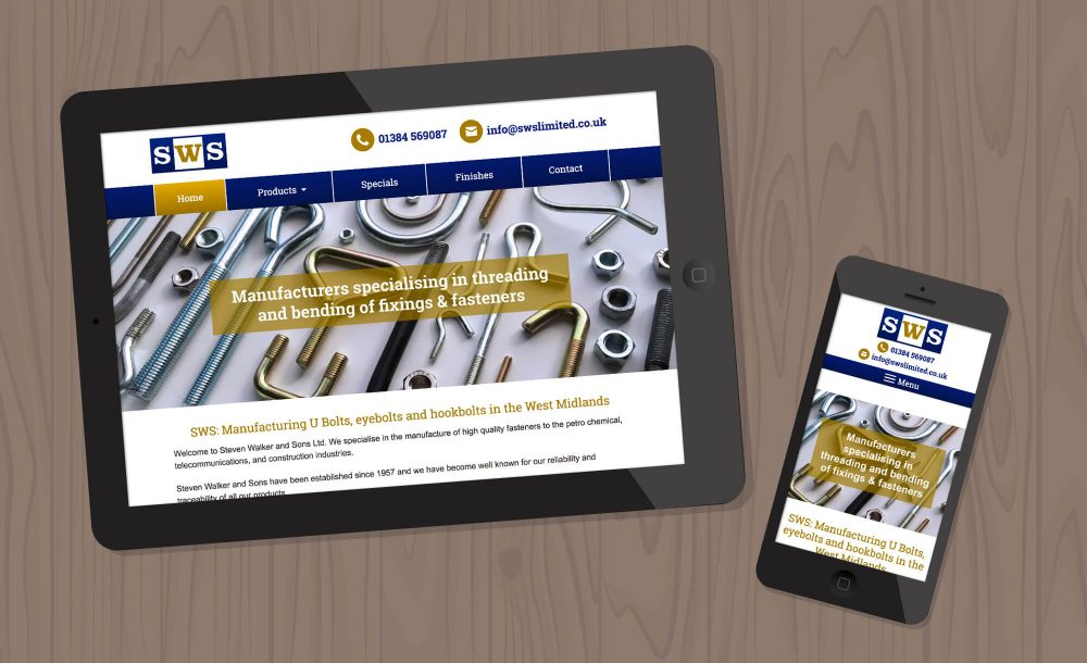sws web design Cradley