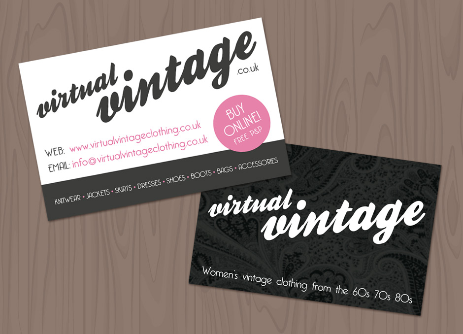 Famous business cards online uk pattern business card ideas virtual vintage business cards getsited reheart Image collections